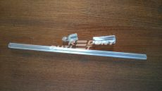 Reluxa üvegpálca szett tartalma 70cm pálca, 1db vég, 1db akasztó
