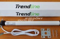 Redőny motor Trendline 10Nm kapcsolós vezérléssel