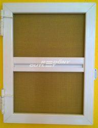 Szúnyogháló nyíló ajtó szett alumínium egyedi méret szerint