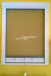 Szúnyogháló rolós függőleges mozgatású (ablakra) műanyag egyedi méret szerint