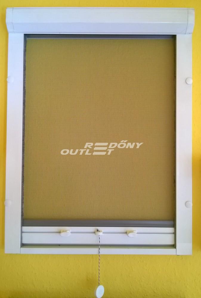 Szúnyogháló rolós függőleges mozgatású (ablakra) műanyag egyedi méret  szerint ce8337003f