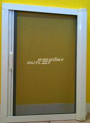 Szúnyogháló rolós vízszintes mozgatású (ajtóra) aluminium egyedi méret szerint