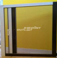 Szúnyogháló dupla tokos rolós vízszintes mozgatású (ajtóra) aluminium egyedi méret szerint