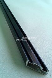 Szúnyogháló keret profil alumínium 13x23mm